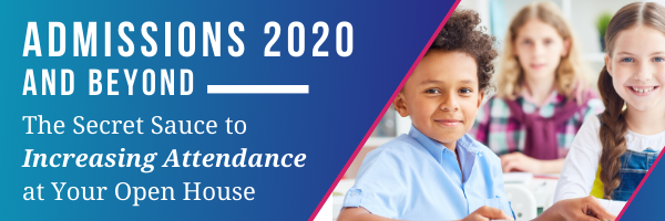 Admissions 2020 and Beyond