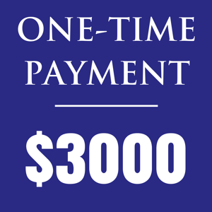 one-time payment