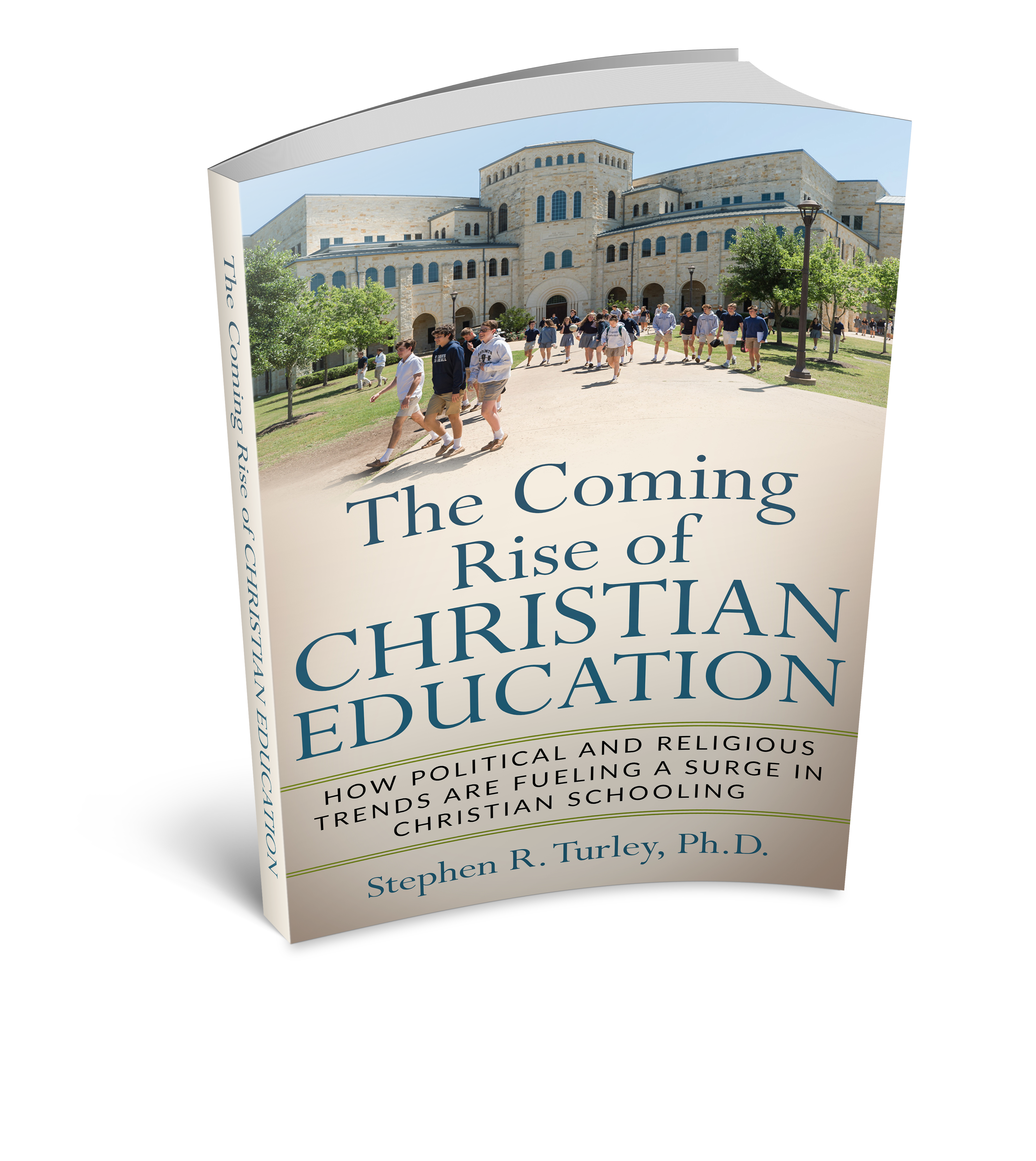 Coming Rise of Christian Education - 3d image